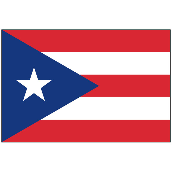 Puerto Rico Territory Nylon Flag