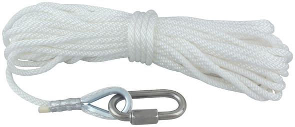 Polyester Rope Assemblies With Wire Center