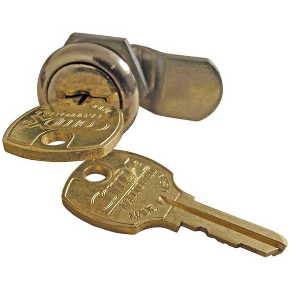 Lock and Keys for Internal Halyard Doors