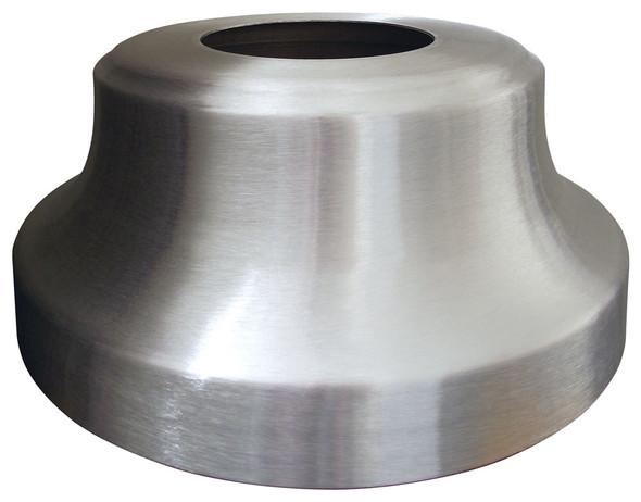 High Profile 'Trumpet' Aluminum Flagpole Flash Collar