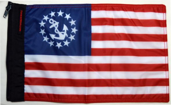 US Yacht Ensign Nautical Flag