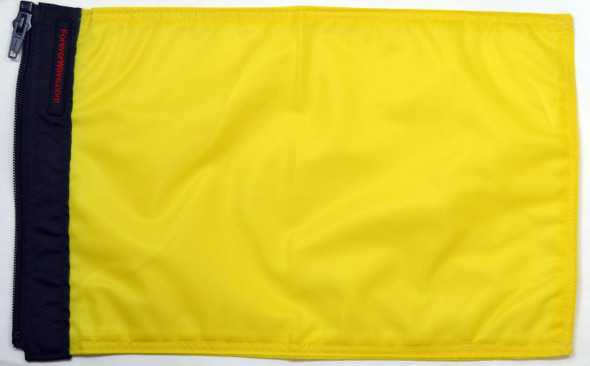 Solid Yellow Q Flag