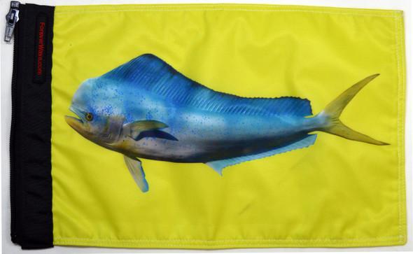 """Dolphin """"Mahi Mahi"""" Flag"""