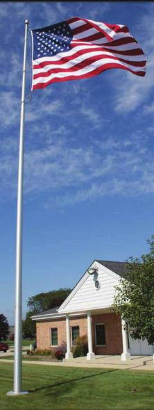 Deluxe IH Series Flagpoles