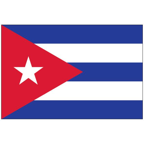 CUBA Outdoor Nylon Flag