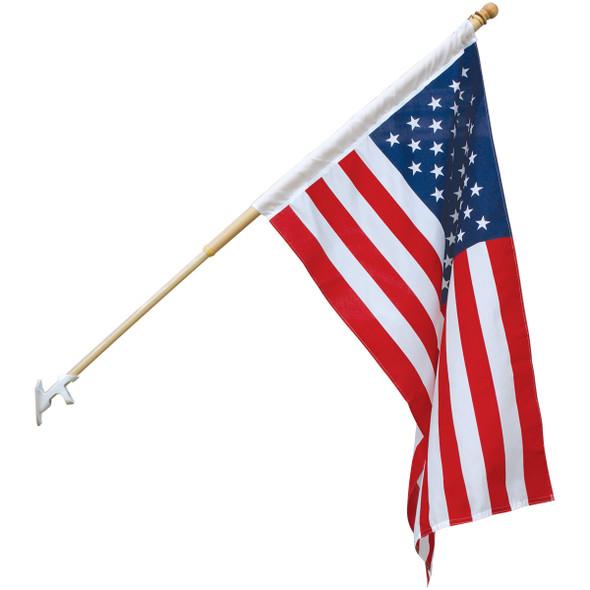 2' x 3' Endura-Poly U.S. Outdoor Flag Set