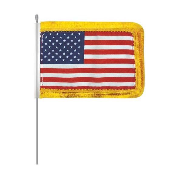 """4"""" x 6"""" U.S. Aerial Flag"""