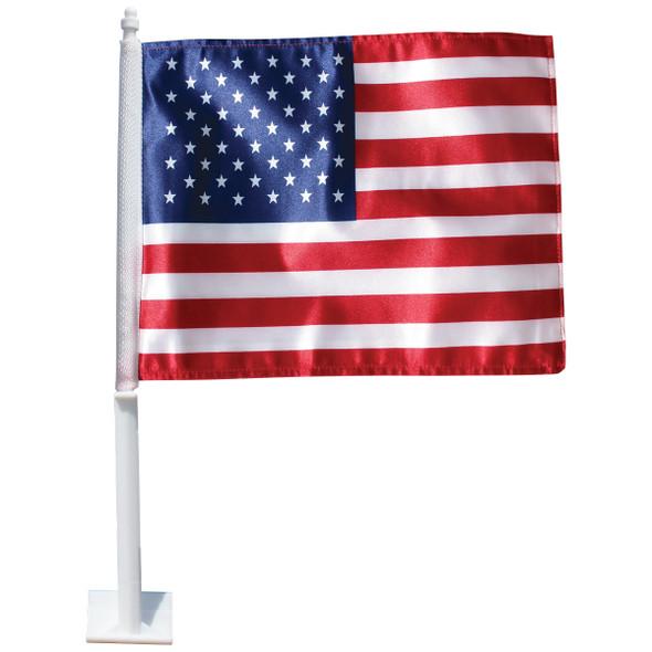 U.S. Auto Window Flag
