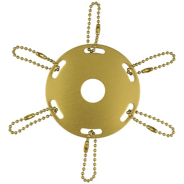 Metal Award Ribbon Flagpole Rings