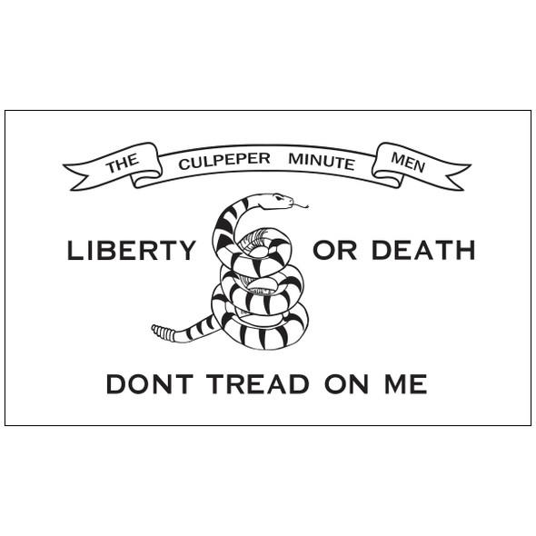 3' x 5' Outdoor Nylon Culpepper Flag