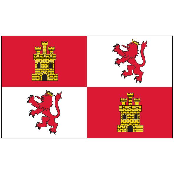 3' x 5' Royal Standard of Spain Flag