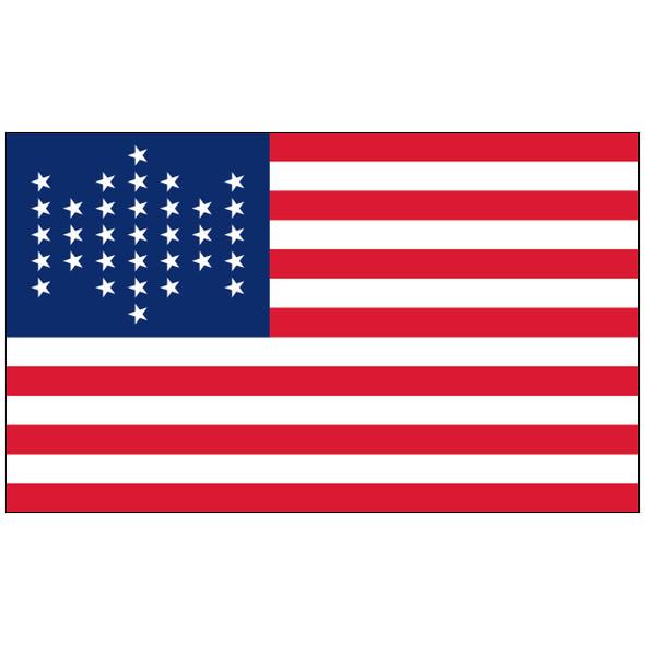 3' x 5' Union Civil War Outdoor Nylon Flag