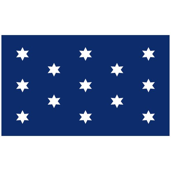 3' x 5' Washington's Commander-In-Chief Flag