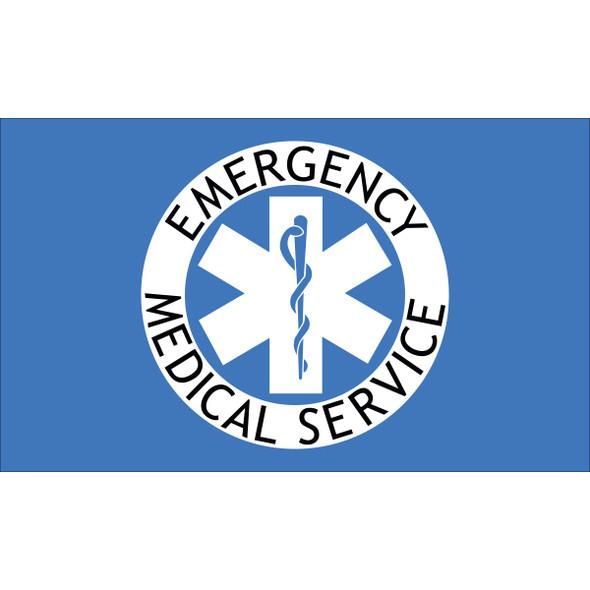 3' x 5' Nylon EMS Flag