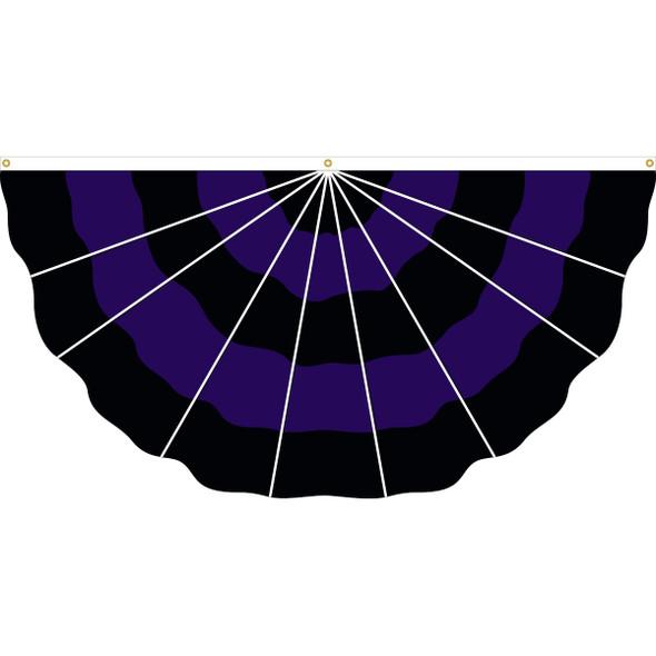 3' x 6' Nylon Police Mourning Fan