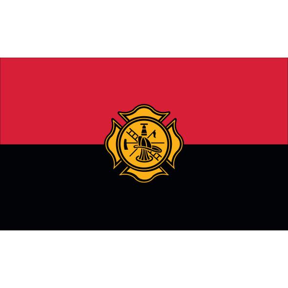 3' X 5' Nylon Firemen Remembrance Flag