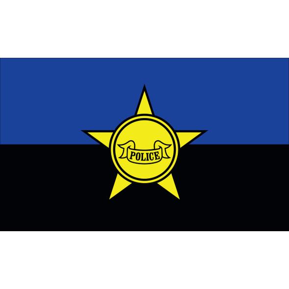 3' X 5' Nylon Police Remembrance Flag