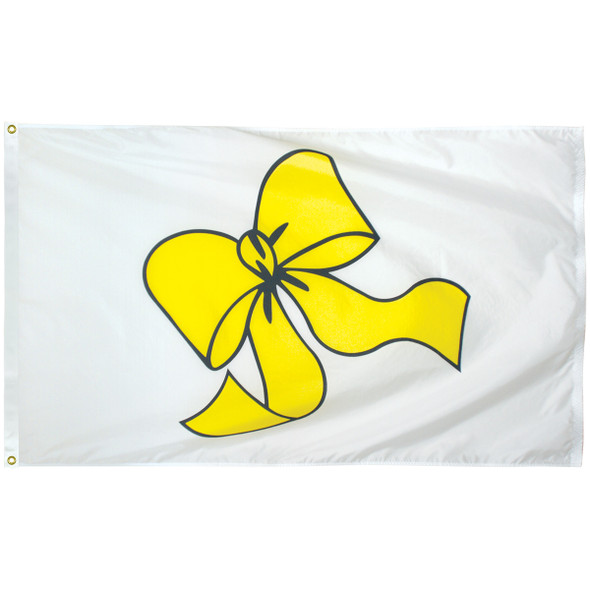 3' x 5' Yellow Ribbon Flag