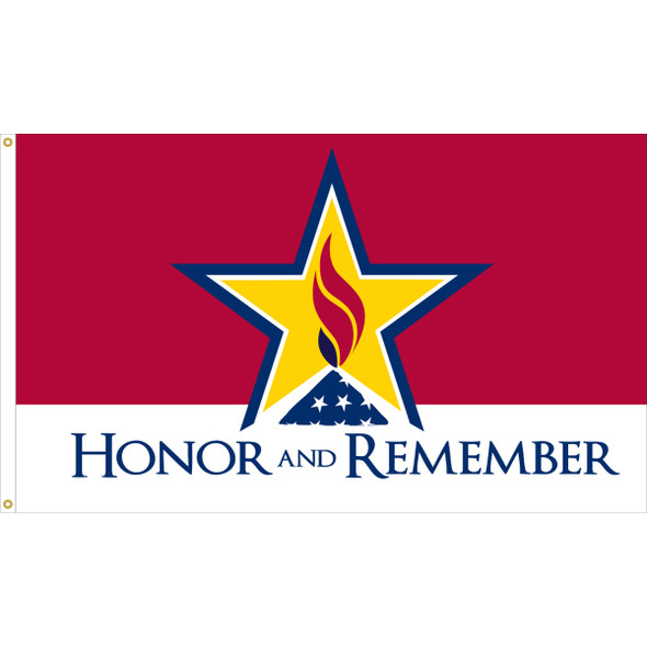 3' x 5' Outdoor Honor Remember Flag