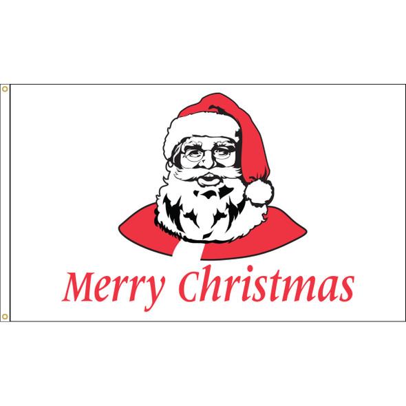 "3' x 5' Nylon ""MERRY CHRISTMAS"" Outdoor Flag"