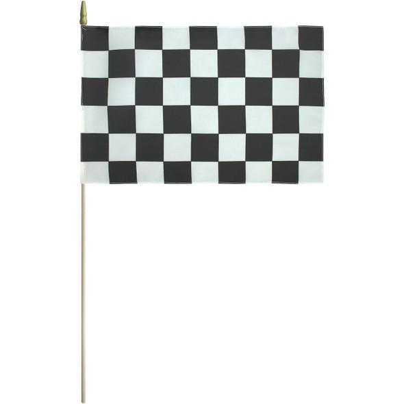 "12"" x 18"" Endura-Poly End of Race Flag"