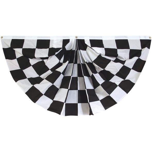Outdoor Checkered Fan