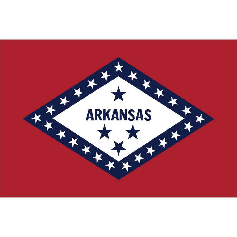 Arkansas State Flag Nylon
