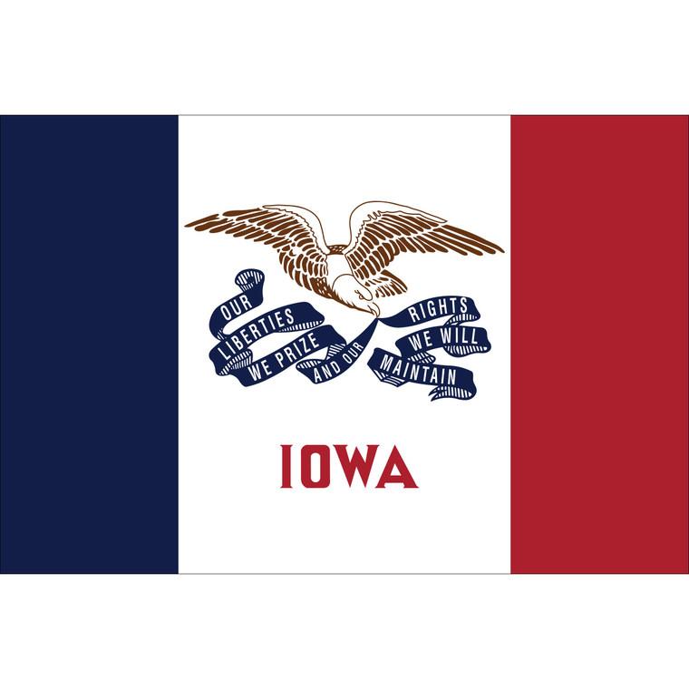 Iowa State Nylon Flag