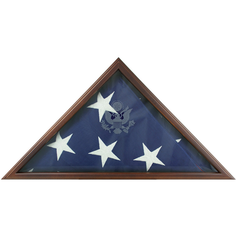 Cherry Flag Memorial Case
