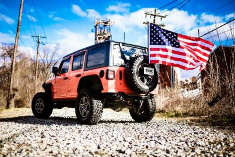 Jeep Flag Mount Kit for 18-20 Wrangler JL - Rox Offroad