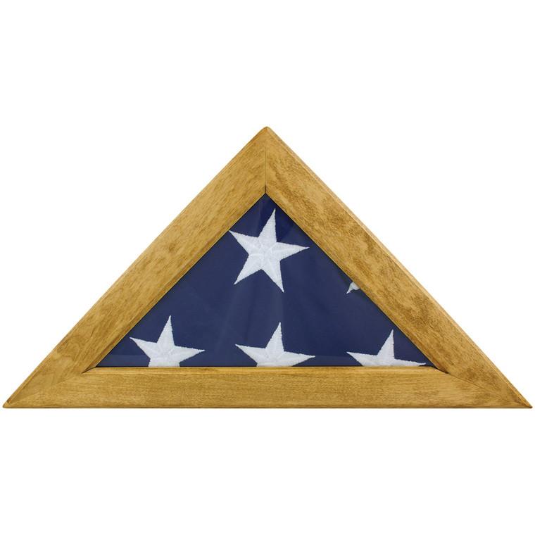 Maple Memorial Flag Case