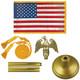 U.S. Indoor Flags & Sets