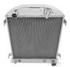 1932 Ford Chopped Model B  All Aluminum Radiator