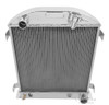 1932 Ford Chopped Sedan Delivery All Aluminum Radiator