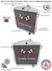1945-1946 Chevrolet DJ All Aluminum Radiator