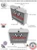 1946-1953 Willys Station Wagon All Aluminum Radiator