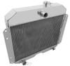 1952-1953 Willys Aero Comet All Aluminum Radiator