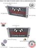 1997-2000 Isuzu Hombre All Aluminum Radiator