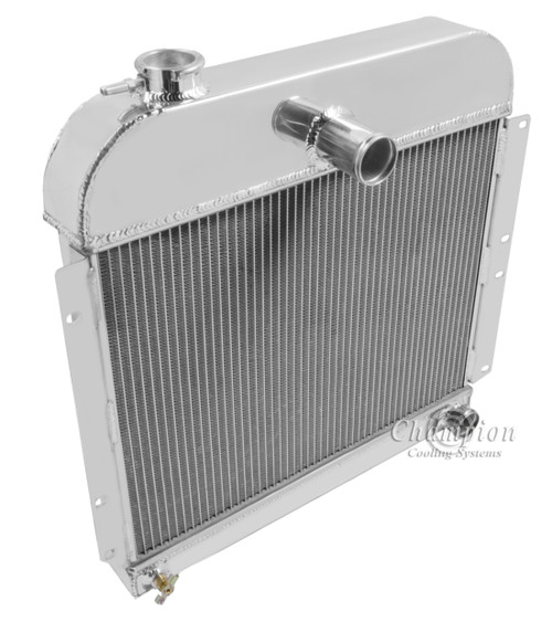 1946-1948 Plymouth P15 Special Deluxe All Aluminum Radiator