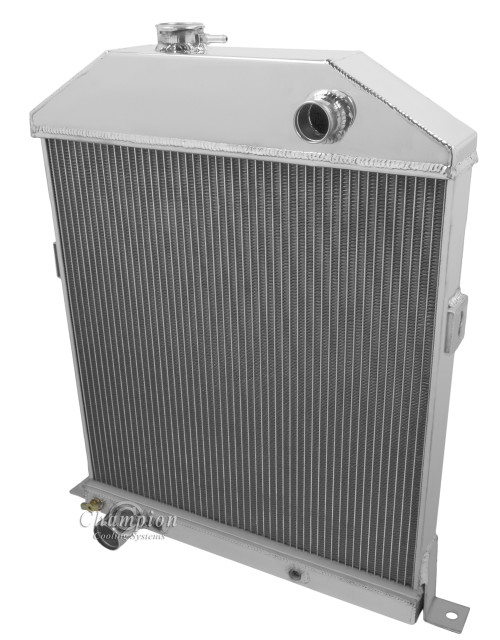 1942-1948 Ford Coupe  All Aluminum Radiator