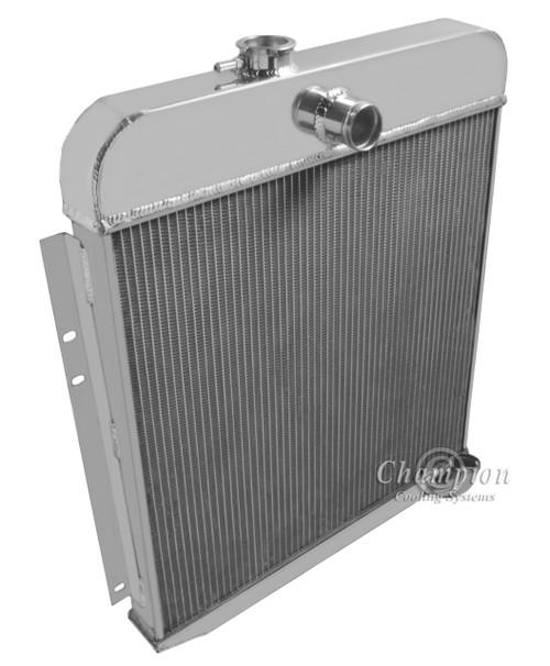 1949-1950 Plymouth Sedan  All Aluminum Radiator
