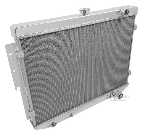 1973-1974 Plymouth Roadrunner  All Aluminum Radiator
