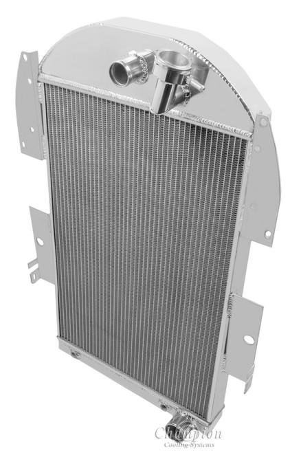 1934-1936 Chevrolet Pickup V8 Conversion All Aluminum Radiator