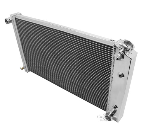 """All Aluminum Crossflow Radiator For 1968 - 1985 GM Car and Truck with 28"""" Core"""