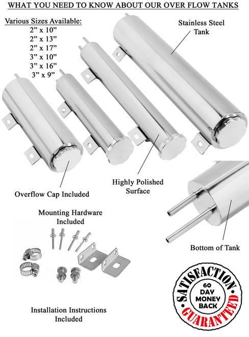 Aluminum Overflow Tank