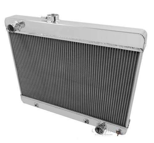 1965-1967 Pontiac LeMans All Aluminum Radiator
