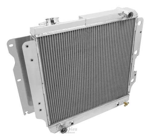 1987-2006  Jeep Wrangler  All Aluminum Radiator