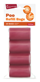 Yours Droolly Refill Bags Red 60pk