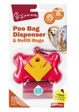 Yours Droolly Poo Bag Dispenser & Refill Bags