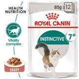 Royal Canin Instinctive +7 in Gravy Wet Cat Food